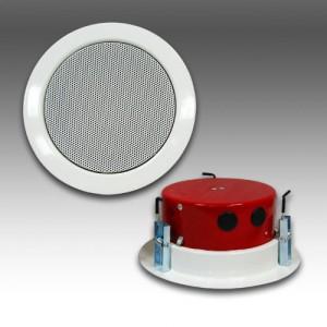 Metal Ceiling Voice Alarm Loudspeaker